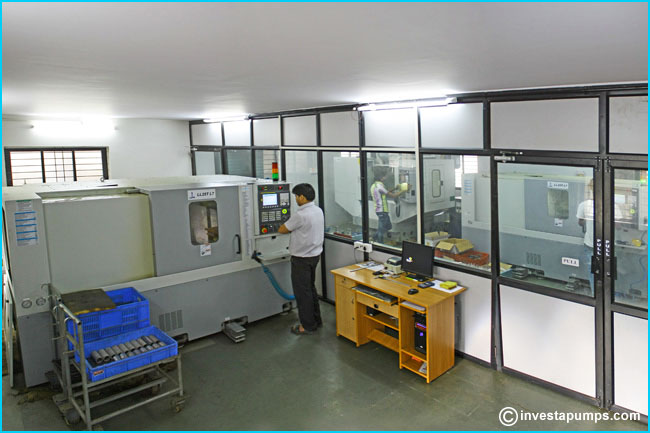 Investa CNC Workshop